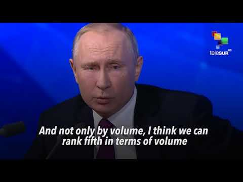 Putin: Russia's Economy 'Can Be Fifth Largest In The World'