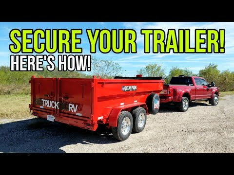 Maximum Trailer Security! Must Have Products To Protect Your Trailer! Kraken Lock And Ft Knox Locks!