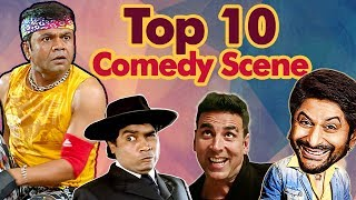 Shemaroo Bollywood Comedy - Top 10 Comedy Scenes HD Ft - Arshad Warsi  Johnny Lever  Rajpal