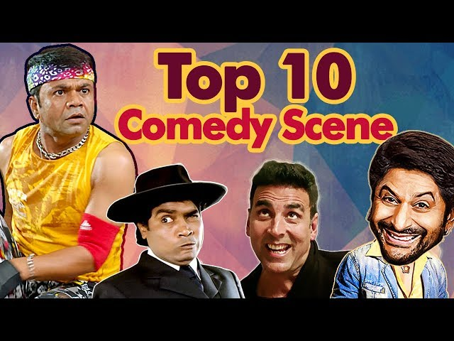 #Shemaroo Bollywood Comedy - Top 10 Comedy Scenes (HD) Ft - Arshad Warsi | Johnny Lever | Rajpal
