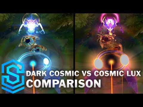 Dark Cosmic Lux vs Cosmic Lux Comparison