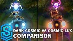 Dark Cosmic Lux vs Cosmic Lux Comparison