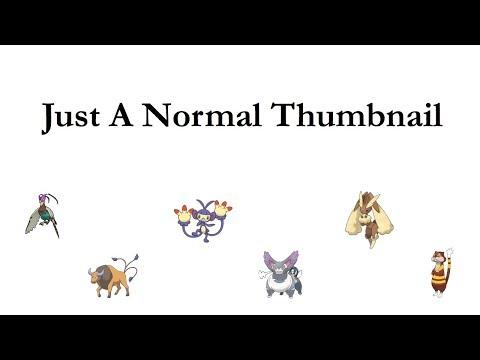 """Mono Normal Type Team """"Never Been So Normal"""" Pokemon Sun & Moon Theme Team NO.14"""