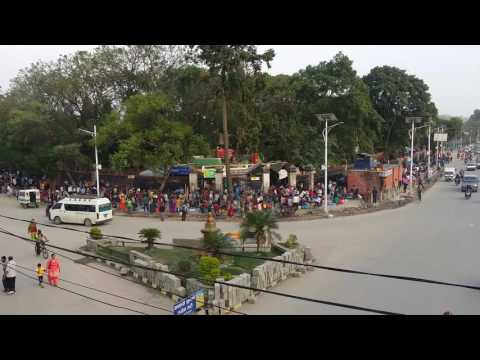 Nepal Kathmandu City Center Ratna Park Traffic