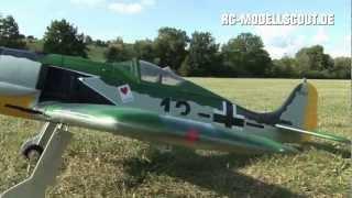 Fliegeralarm: Die neue FOCKE WULF Fw-190 von STAUFENBIEL im Test