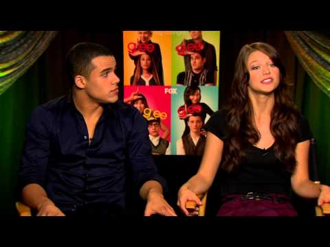 Glee   with Jacob Artist and Melissa Benoist