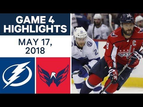 NHL Highlights | Lightning vs. Capitals, Game 4 - May 17, 2018