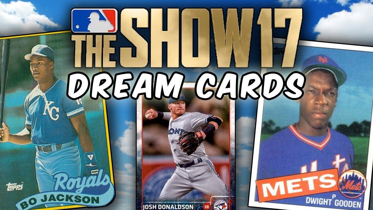 Bo Knows 1989 Bo Jackson Mlb The Show 17 Dream Cards