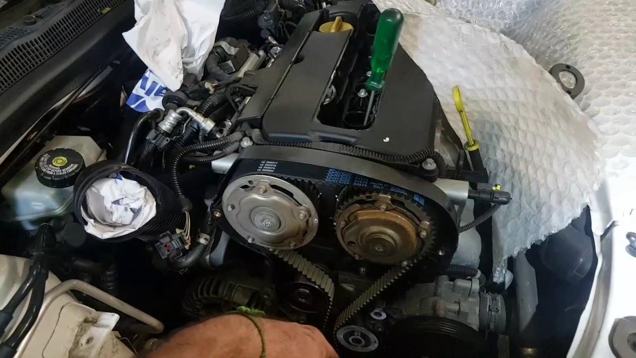 Holden Astra Timing Belt Diagram 99 F150 Wiring 2008 H Marks Routing Opel Camshaft Tensioner Idler