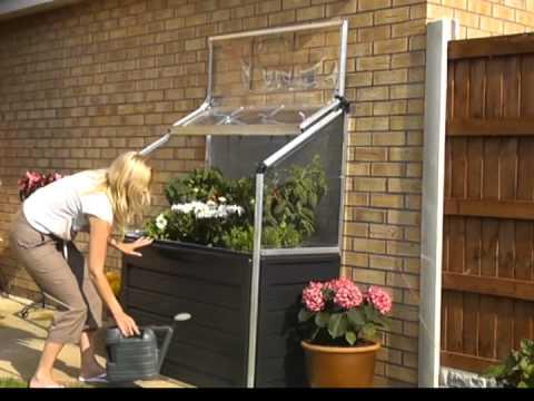 Palram Urban Gardening Plant Inn Compact Youtube