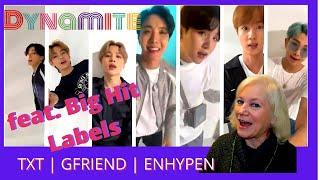 Download lagu BTS (방탄소년단) Sing 'Dynamite' with me (feat. Big Hit Labels) | Grandma Reacts | TXT-ENHYPEN-GFriend