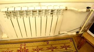 Биметаллический радиатор плохо греет не прогревается, решение удлинитель протока...(, 2017-11-23T23:16:00.000Z)