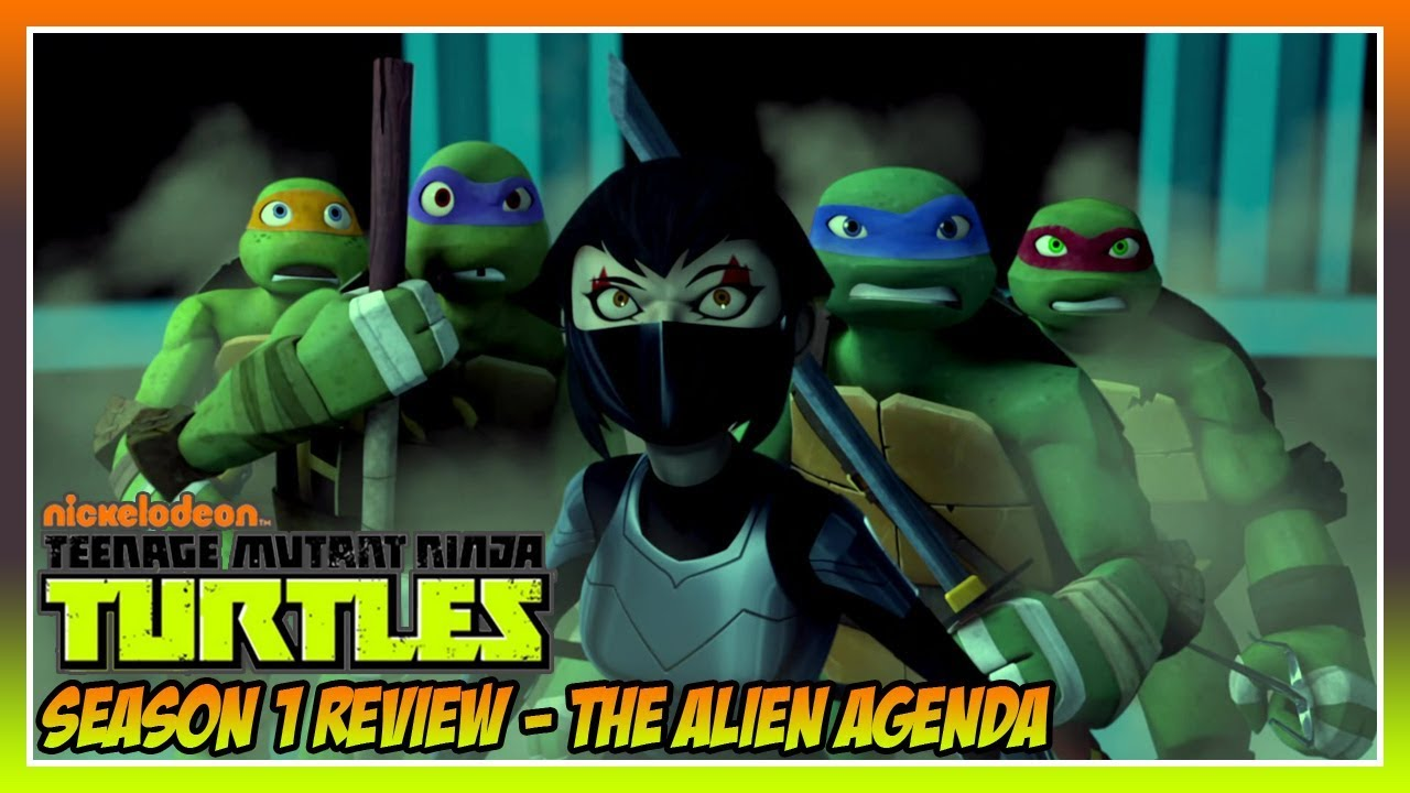 the alien agenda tmnt 2012 meet