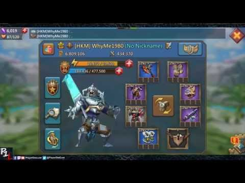 Lords Mobile: Gear Sets