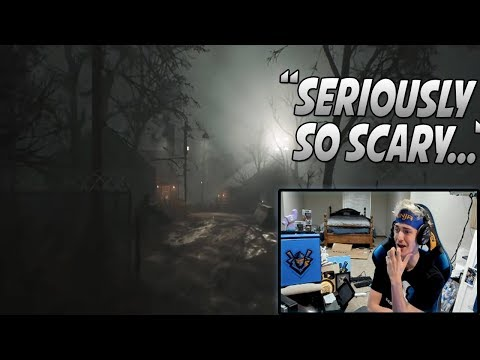 "Ninja Reacts To New Scary/Horror Battle Royale Game! (Hide Or Die!) ""This Is Terrifying.."""