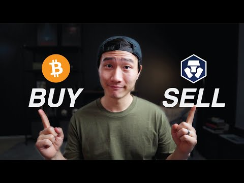 Crypto.com | How to Buy and Sell Cryptocurrency Step By Step Guide 2021
