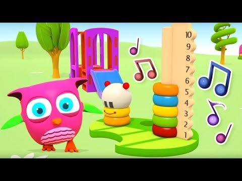 Çizgi Film Baykuş Hop Hop Ile Seçkin Bölümler! Küçük çocuklar Için