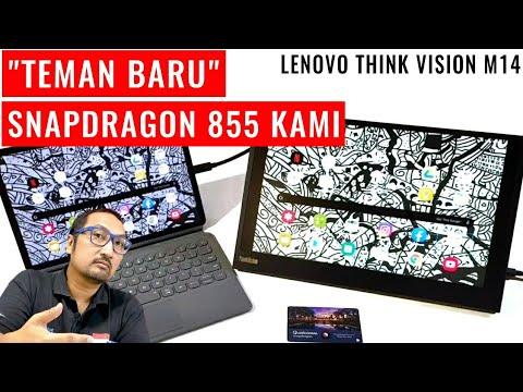Layar Ekstra untuk Tablet Kami di Snapdragon Tech Summit 2019: Review Lenovo Think Vision M14S