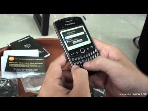 Khui hộp BlackBerry Curve 9360 - www.mainguyen.vn