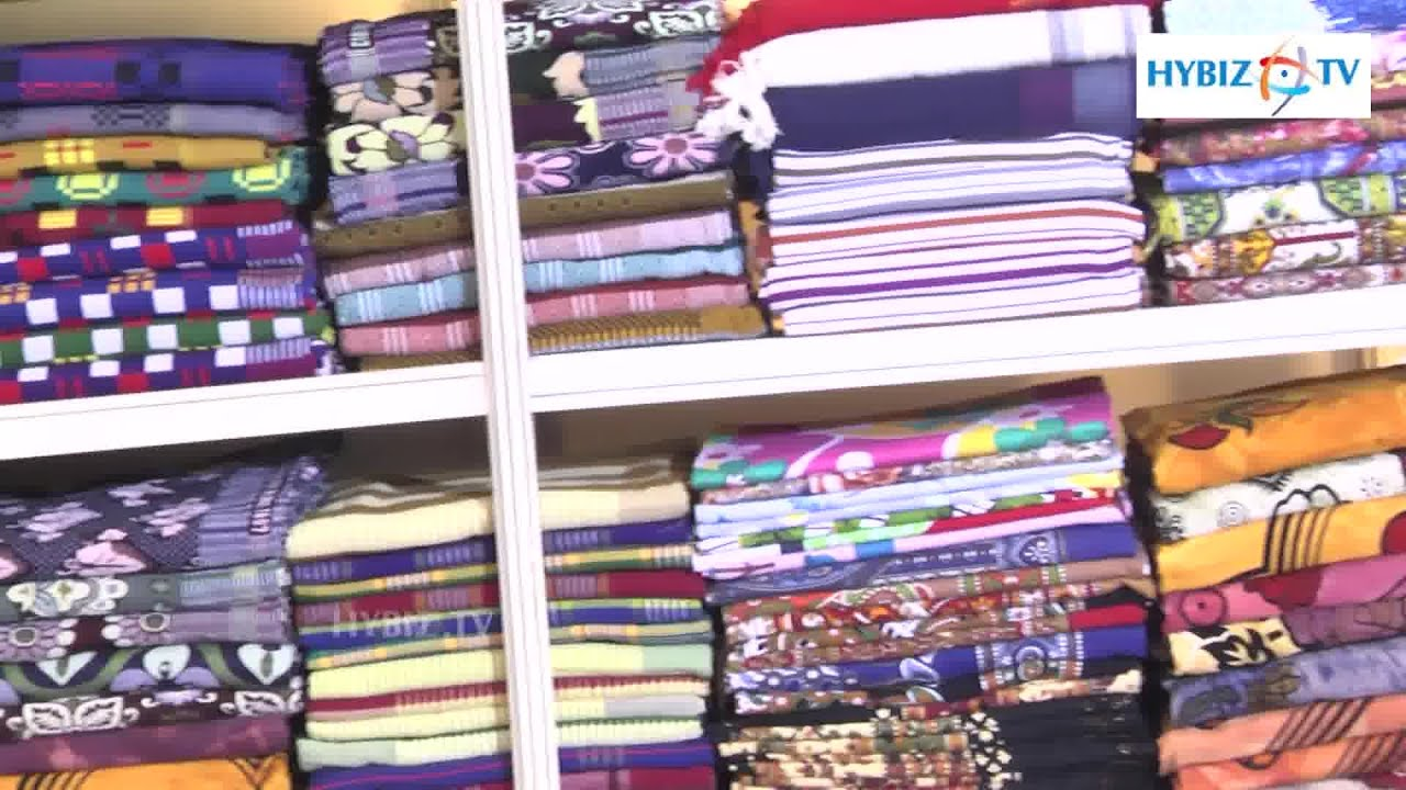 Chennimalai Bed Sheets At Tamilnadu Handloom Exhibition Cum Sale 2015      YouTube