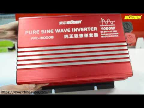 Suoer New Generation True Sine Wave Inverter 1500W(FPC-H1500A)