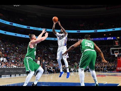 Amir Johnson | Highlights vs Celtics (10.6.17)