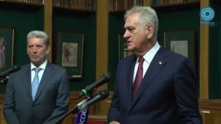 Визит президента Сербии в РНБ
