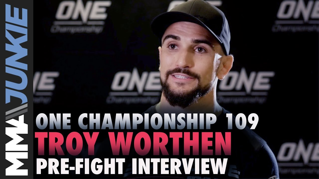 ONE Championship 109: Troy Worthen pre-fight interview