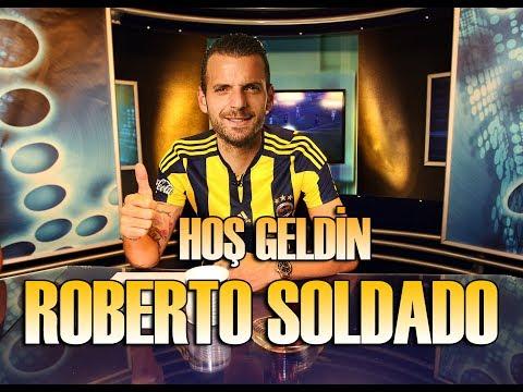 Roberto Soldado Fenerbahçe'de | Fantastik Golleri, İstatistikleri