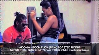 Aidonia - Boom Flick (Raw) Toasted Riddim - Sept 2013