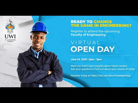 Faculty Of Engineering Virtual Open Day 2020
