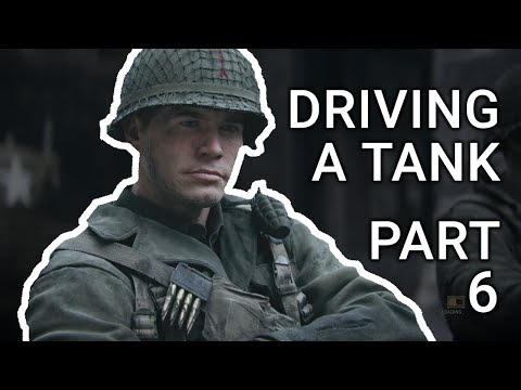 CALL OF DUTY WW2 Gameplay Walkthrough Part 6 Campaign - COLLATERAL DAMAGE - DRIVING A TANK!!!