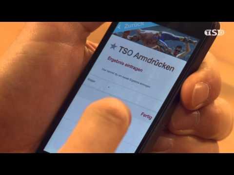 Marc Berthod und Sandro Viletta zeigen ihre App