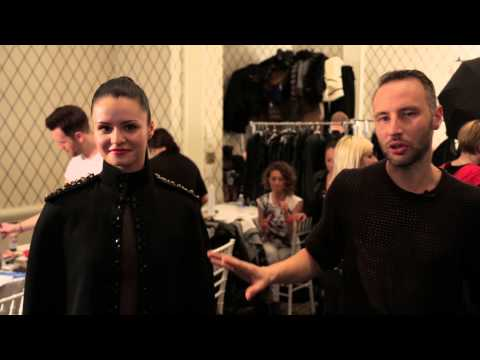DORE FW 2014 Behind the Scenes at New York Fashion Week