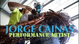Jorge Cainas - Performance Artist Process