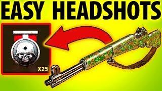 COD WW2 TIPS GET EASY HEADSHOTS Diamond Camo Rifles