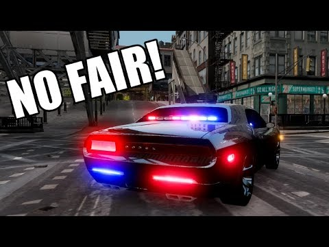 UNMARKED POLICE CAR TOUR (detective car)