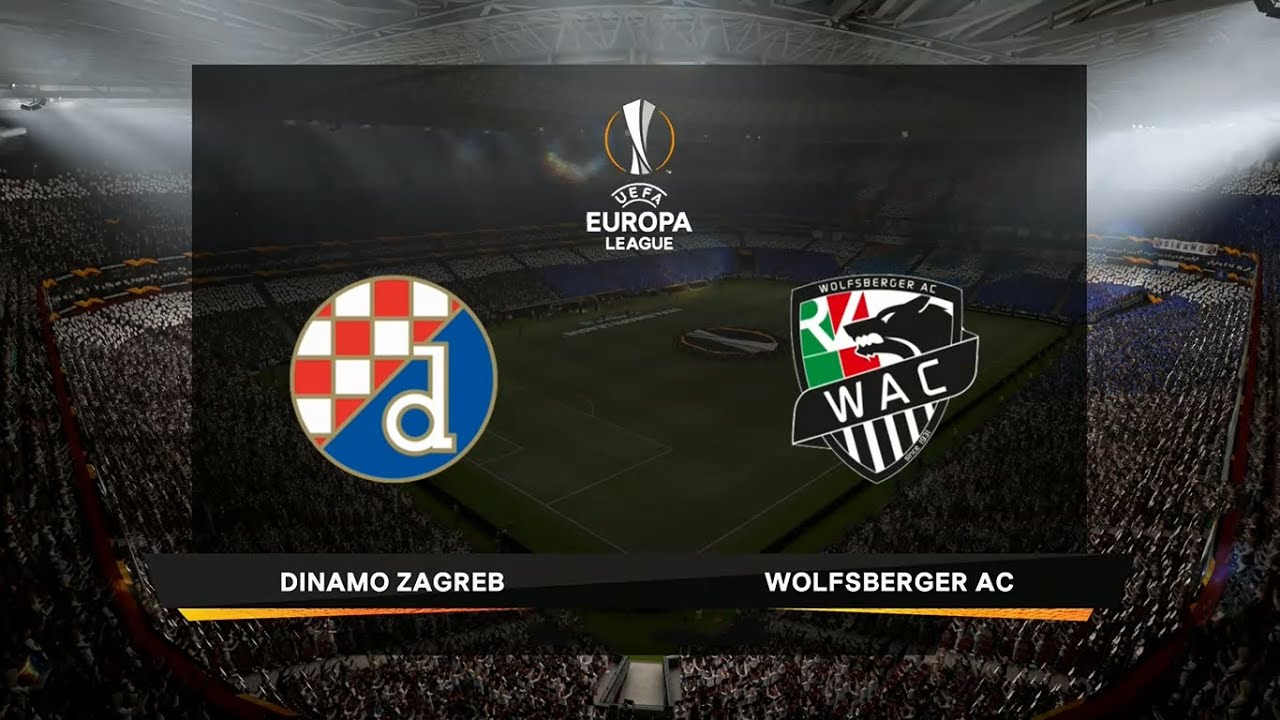 Dinamo Zagreb Vs Wolfsberger Uefa Europa League 05 11 2020 Fifa 21 Youtube