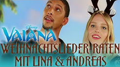 Weihnachtslieder erraten mit Lina & Andreas - Synchronsprecher von VAIANA | Disney HD