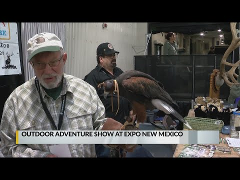 Expo New Mexico Hosts Hunting And Fishing Outdoor Show