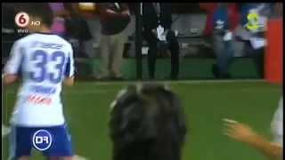 Bronca CRUZ AZUL vs ALAJUALENSE - Concachampions 2014