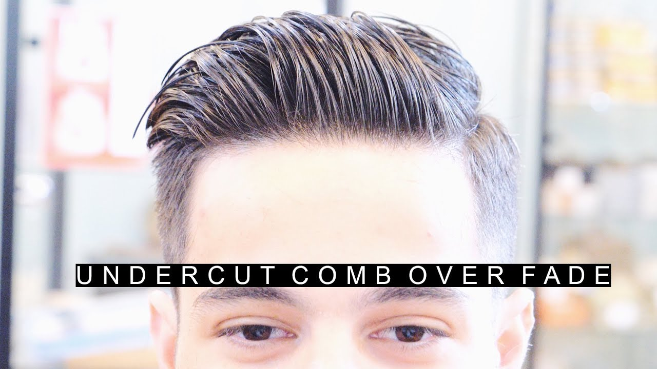 Professional Undercut Comb Over Fade Hairstyle The Best Side Part