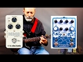 TC Electronic Mimiq + Earthquaker Devices Avalanche Run = Awesome Stereo Ambient Guitar!