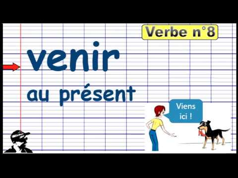 Conjuguer Le Verbe Venir Au Present 2019 Youtube