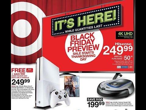 Target Black Friday Ad 2016!!!