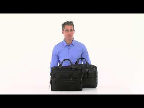 397b28613bb Everything You Need to Know: Tumi Alpha 2 Expandable Organizer Laptop Brief  - YouTube