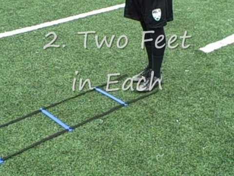 4cecc8d99 Speed Agility Ladder Drills Exercises for Football Soccer Quick Feet ...