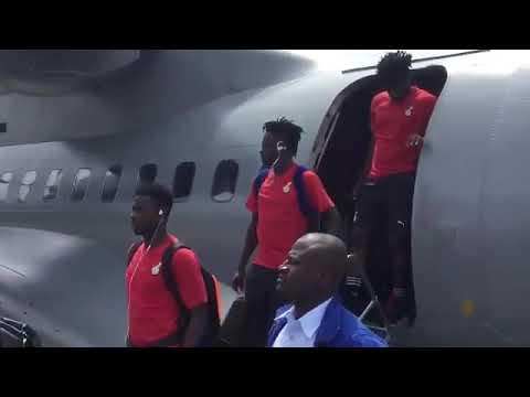 Black Stars Arrive In Sao Tome & Principe For AFCON Qualifier
