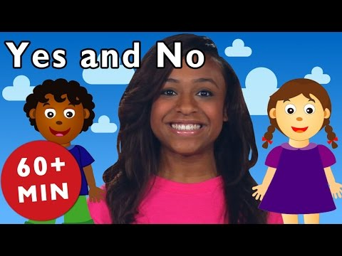 Yes and No and More | Nursery Rhymes from Mother Goose Club!