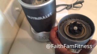 """My """"hustlers Goodmorning"""" Green Smoothie Recipe/2014 Nutribullet Review Part 2"""